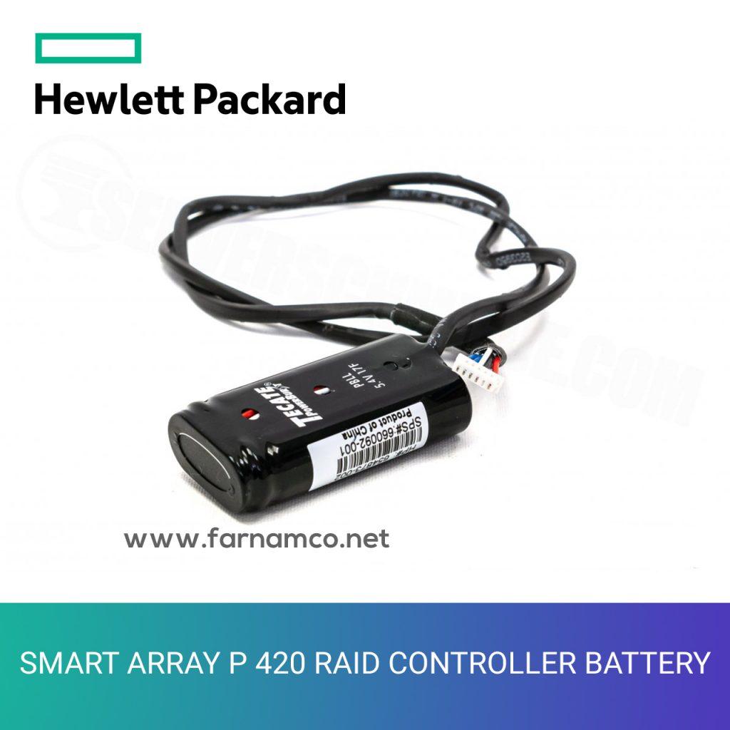SMART ARRAY P 420 RAID CONTROLLER BATTERY