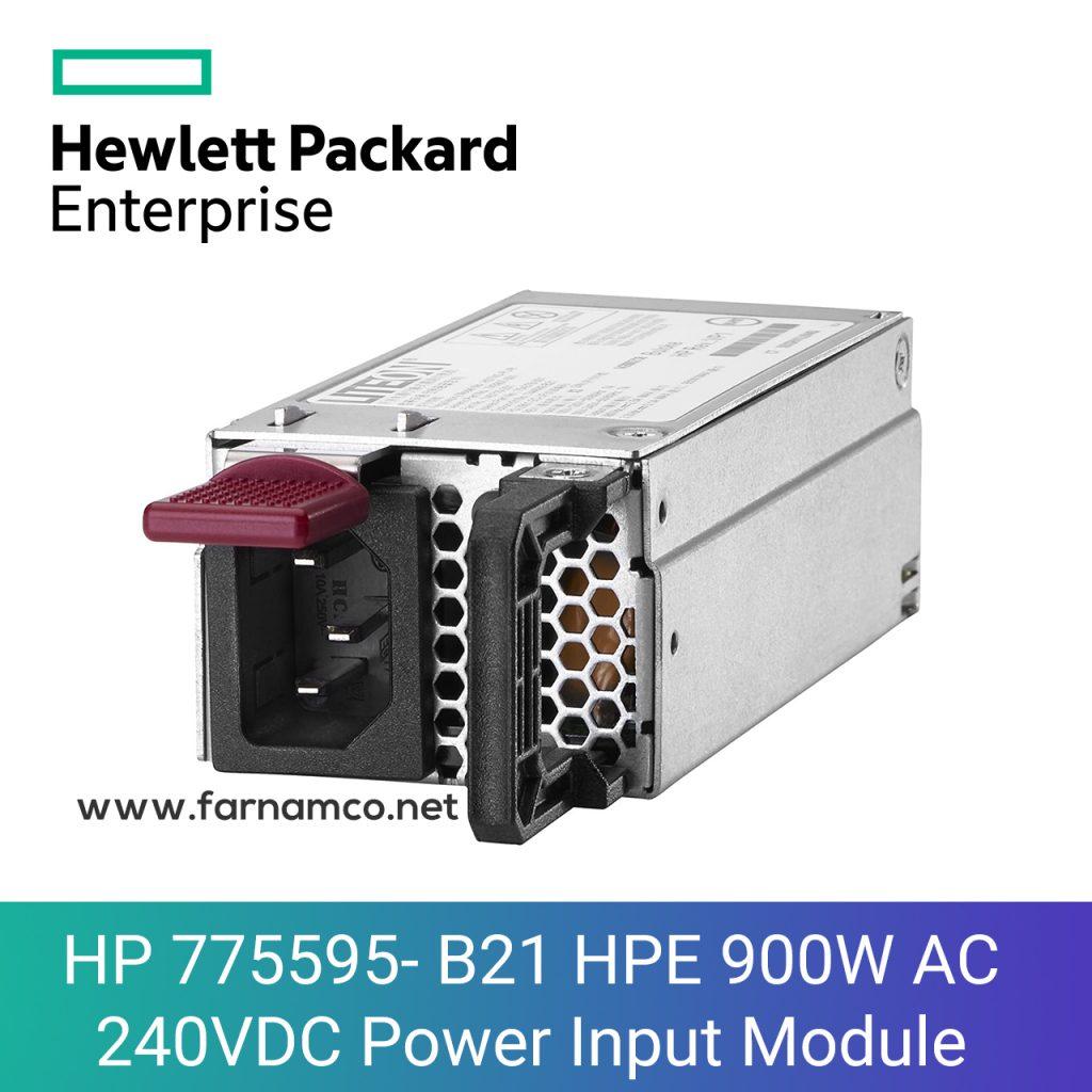 HP 775595- B21 HPE 900W AC 240VDC Power Input Module