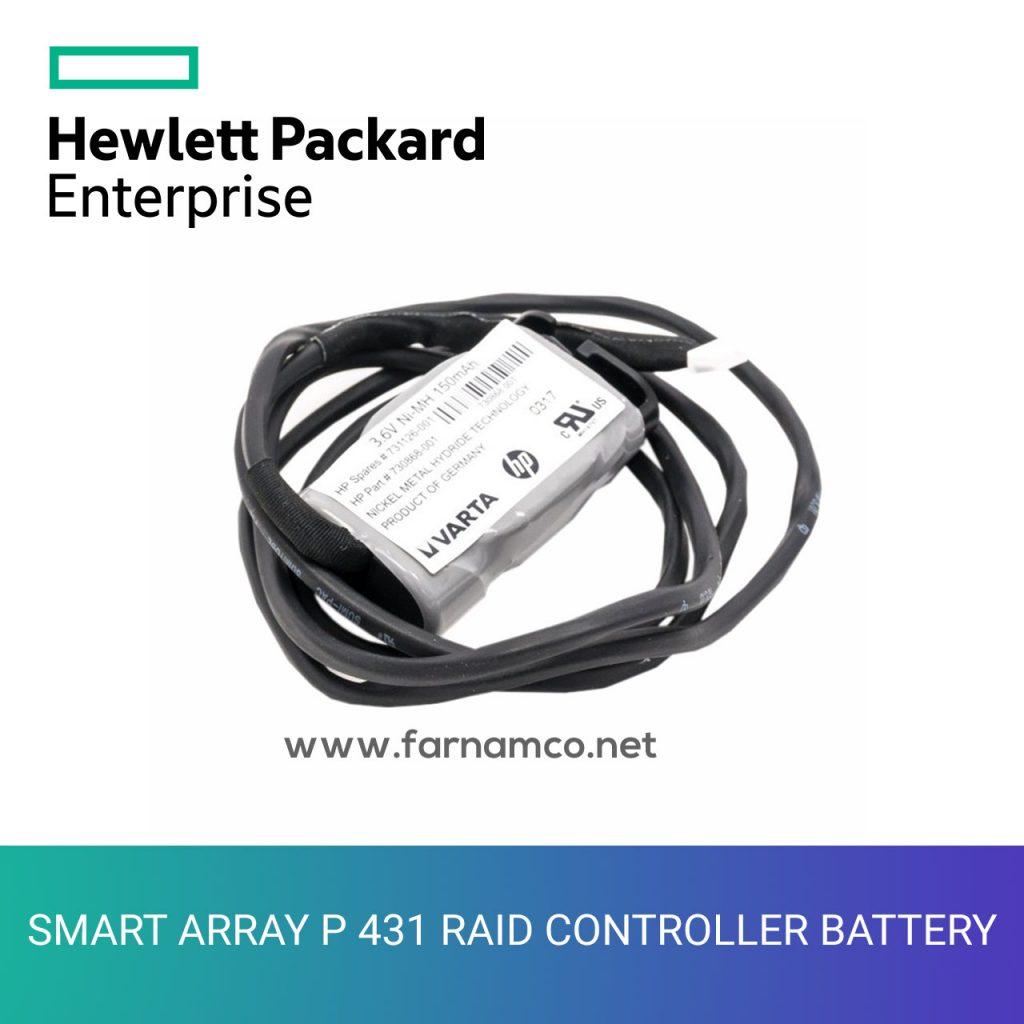 p431 raid controller battery